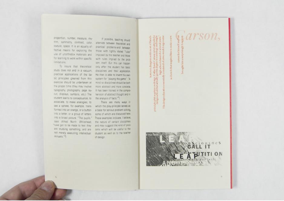 Rand vs Carson book